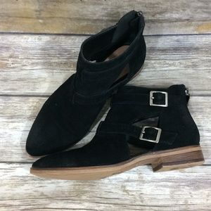 Chinese laundry cutout booties